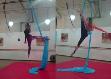 aerial silk & hoop classes leigh-on-sea, essex aerial circus classes